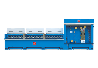 Multi-wires Intermediate/Fine Wire Drawing Machine with Annealing Series